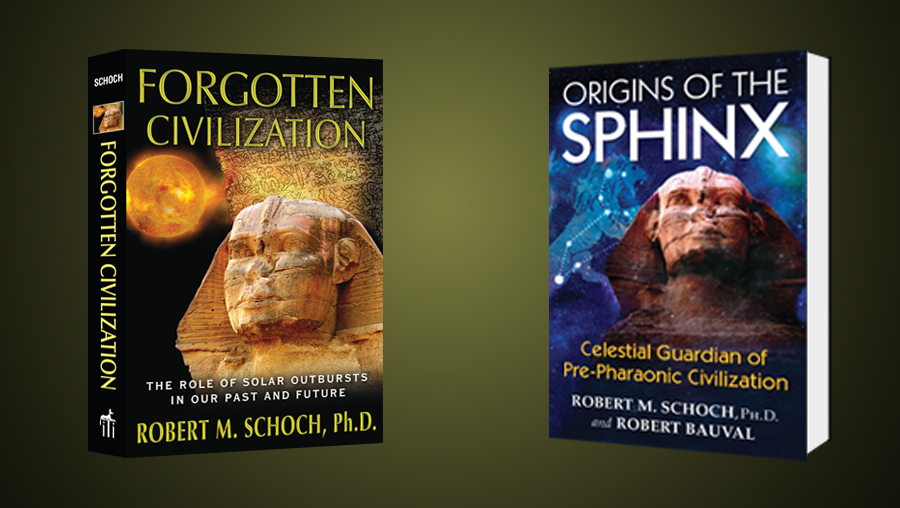 Promo for two important books by Robert Schoch