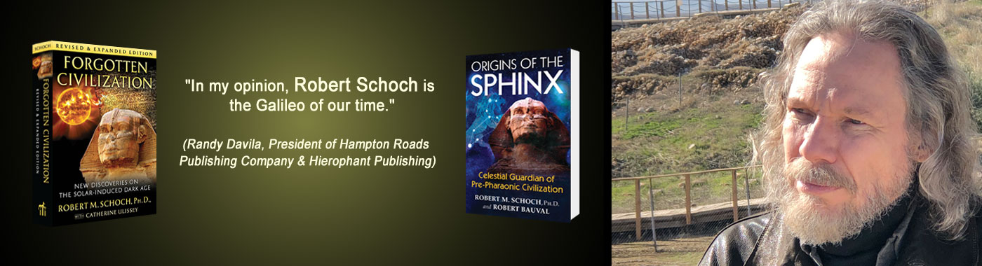 Banner image for the Publications page of Robert Schoch's website